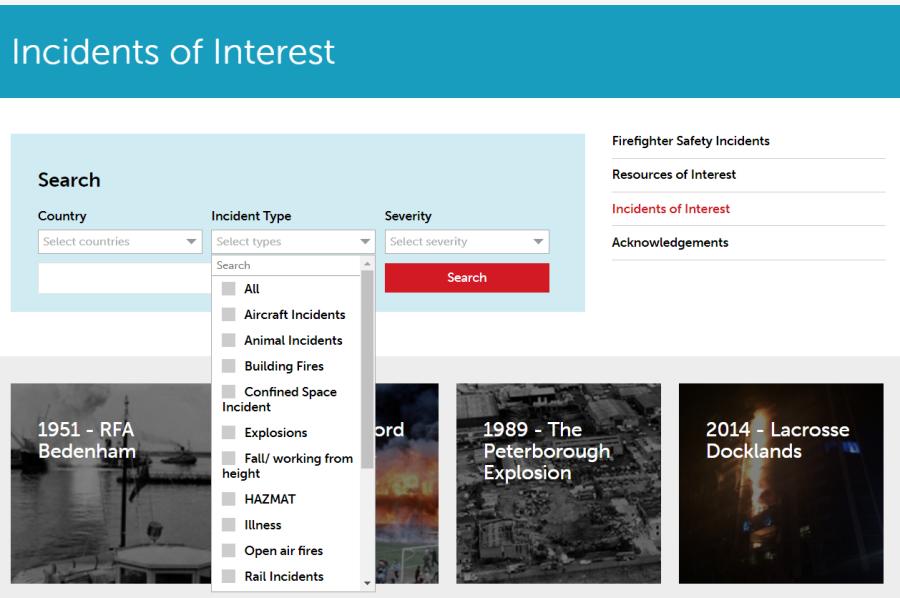 IFE Incident Database
