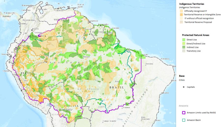Brazil land demarcation